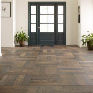 Old World Herringbone Hardwood flooring | Shoreline Flooring
