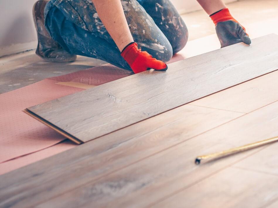 Hardwood Floor installation | Shoreline Flooring