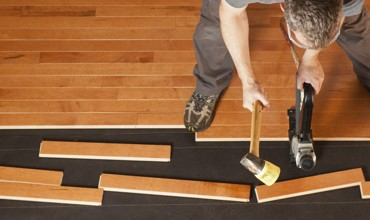 Hardwood installation services | Shoreline Flooring