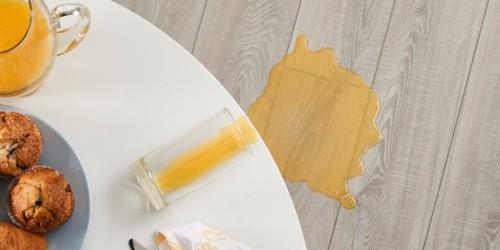 Juice Stain on Vinyl floor cleaning   Shoreline Flooring