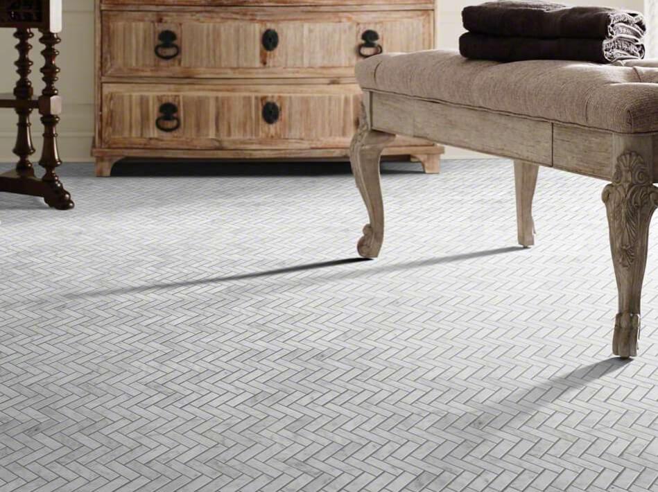 After Installation of tile | Shoreline Flooring