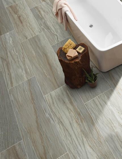 Tiles used in bathroom | Shoreline Flooring