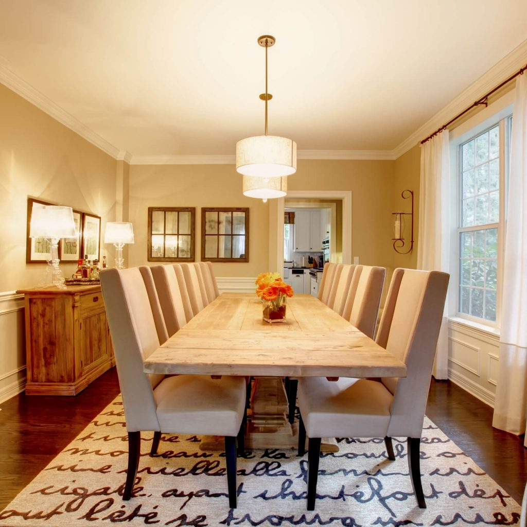 Best Rug for Your Dining Room | Shoreline Flooring