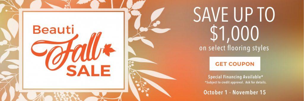 Beautiful sale | Shoreline Flooring