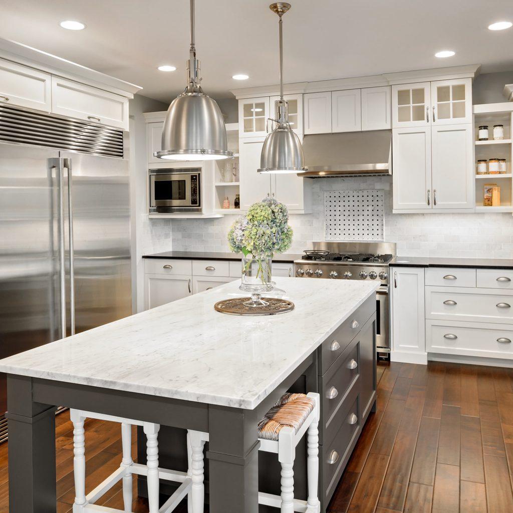 Choosing backsplash for kitchen | Shoreline Flooring