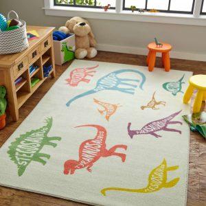 Kids fun with area rug | Shoreline Flooring